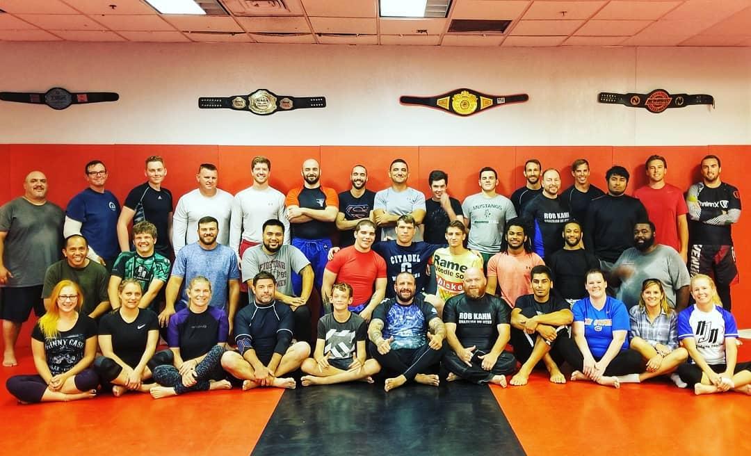 posed photos of jiu jitsu students
