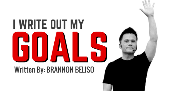 I Write Out My Goals